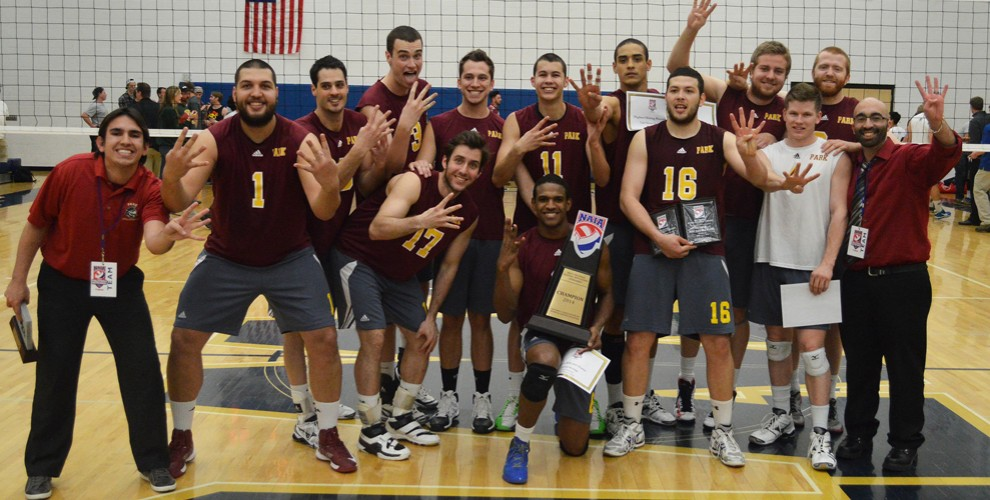 Park University - Champions NAIA de Volleyball universitaire 2014
