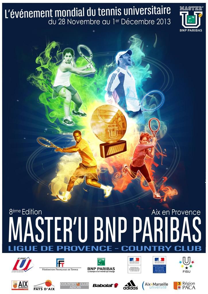 Master'U 2013 : Affiche