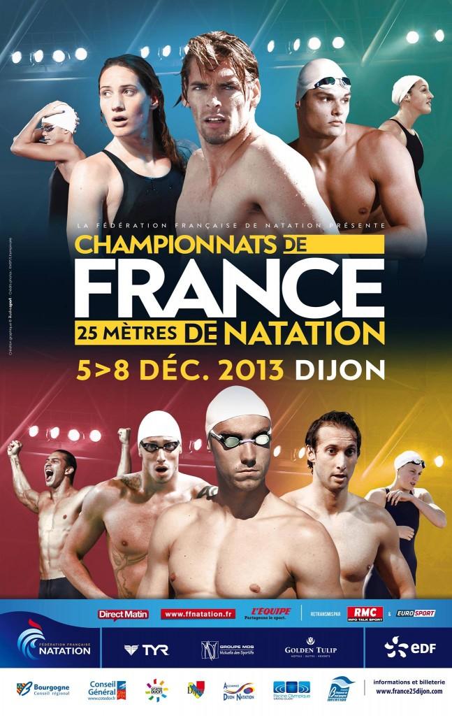 Championnat de France 25m Dijon 2013