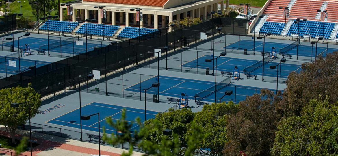 Pepperdine University Tennis Courts