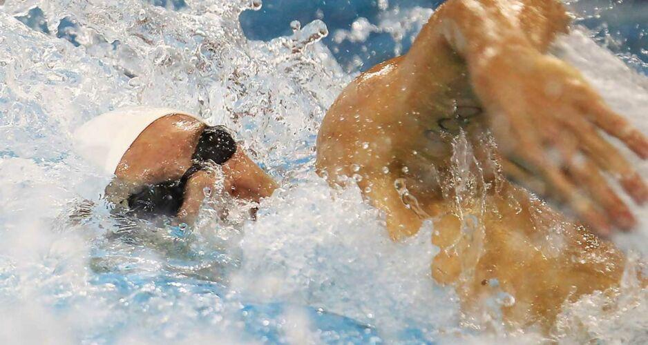 Clement Lefert, nageur en université américaine