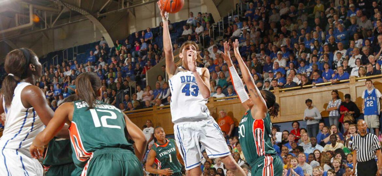 Vernerey Allison Basketteuse à Duke University