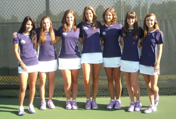 YHC Women's Tennis Team 2011/2012