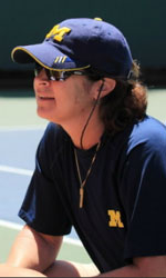 Ronni Bernstein, head coach, Michigan Women