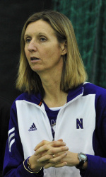 Claire Pollard, head coach, Northwestern Women