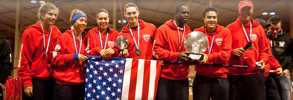 Master'U 2012 : USA Vainqueurs