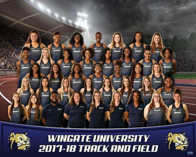 Wingate University Women's Track & Field Team 2017/2018