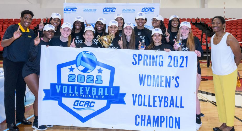 2021 GCAC Volleyball Champion