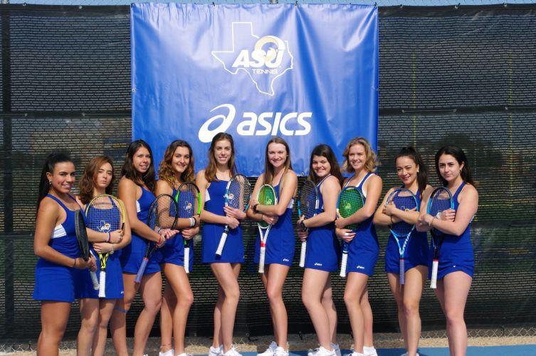 Angelo State University Women's Tennis Team 2019-2020