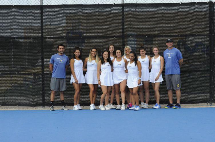 Angelo State University Women's Tennis Team 2018-2019