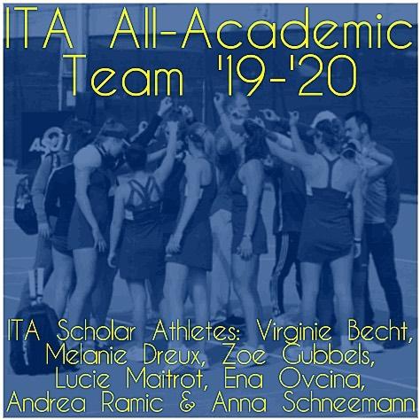 2019-2020 ITA All-Academic Team