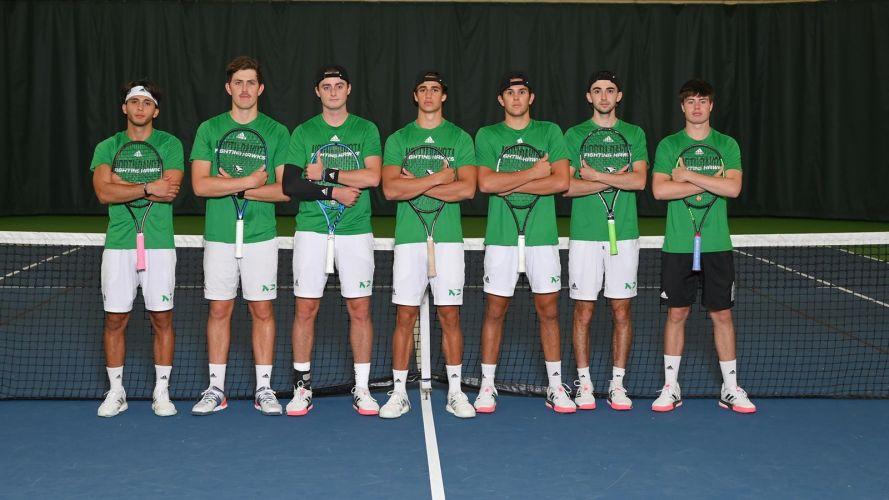 University of North Dakota Men's Tennis Team (2020-2021)