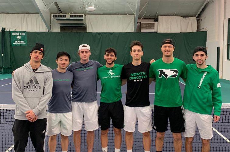 University of North Dakota Men's Tennis Team (2019-2020)