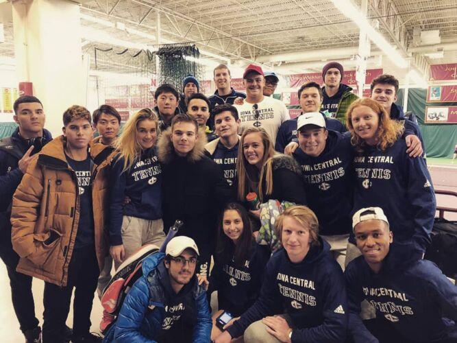Iowa Central Tennis Teams 2018/2019