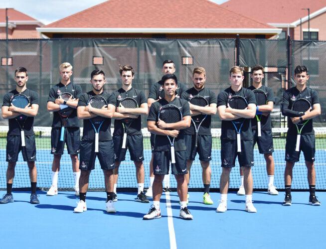William Carey Men's Tennis Team 2018/2019