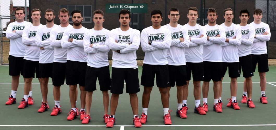 WWU Men's Tennis Team 2018/2019