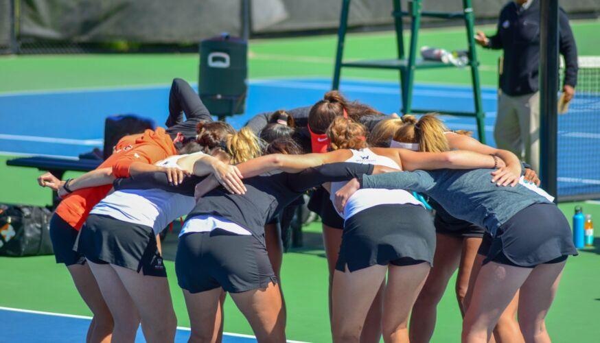 UOP Women's Tennis Team 2019/2020