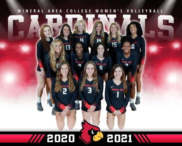 Mineral Area College Women's Volleyball Team 2020-2021