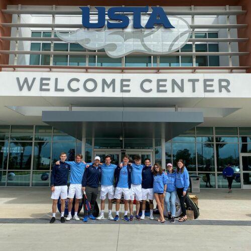 Les Timberwolves au USTA center !
