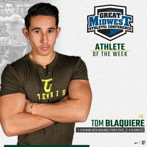 Tom Athlete de la semaine de la conférence GMAC (27 fev. 2020)