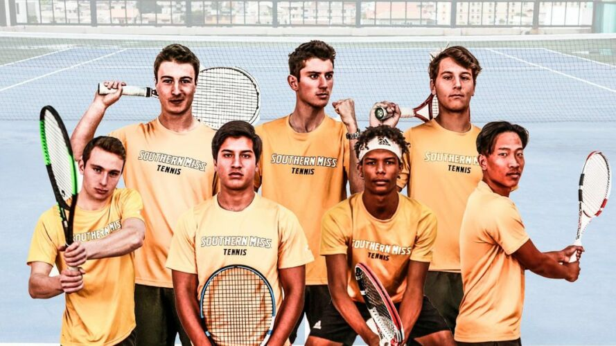 Southern Mississippi Men's Tennis Team 2019/2020