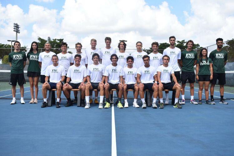 Florida National University Men's Tennis Team 2019-2020