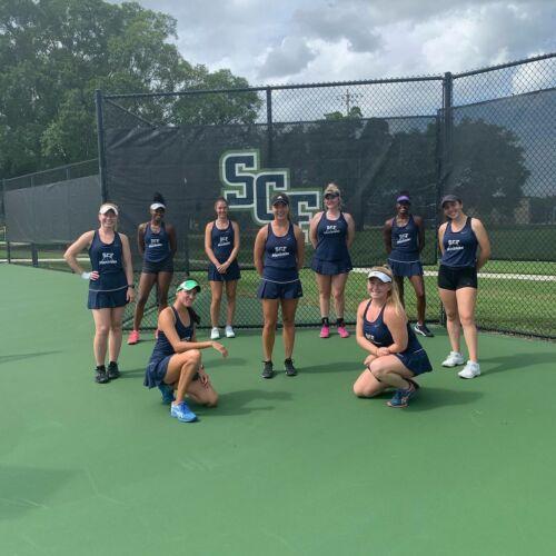 SCF Women's Tennis Team 2020/2021
