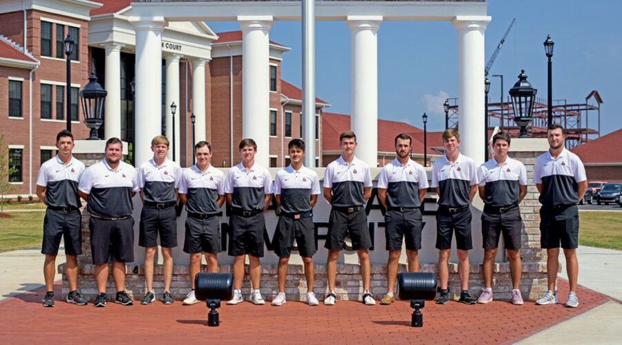 William Carey University - Men's Golf team 2019-2020