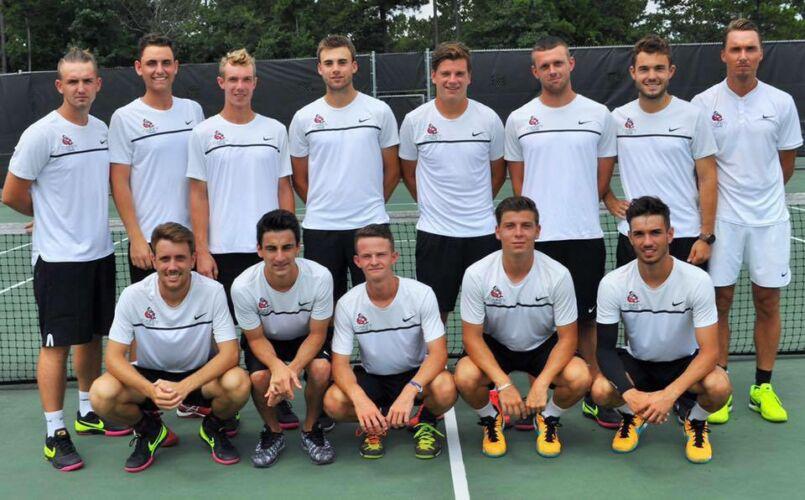 William Carey University Men's Tennis Team 2016-2017