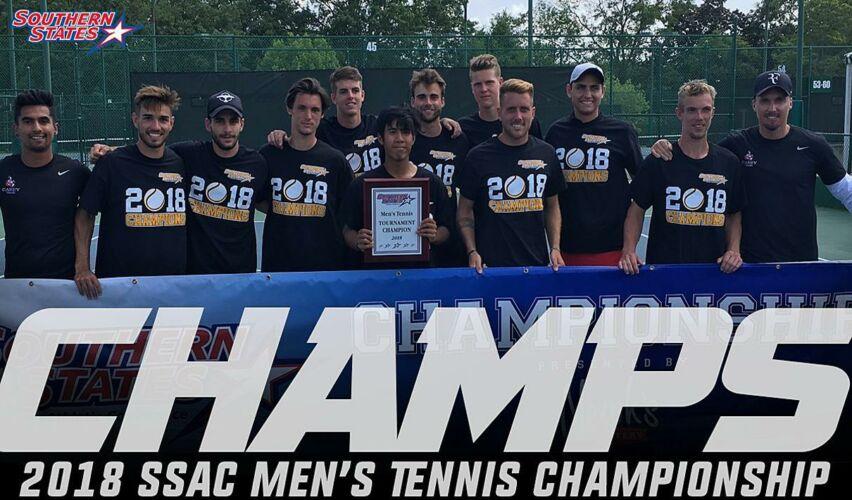 2018 SSAC Men's Tennis Champions