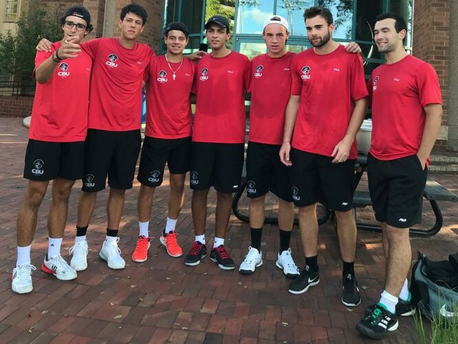 Christian Brothers University Men's Tennis Team 2018-2019