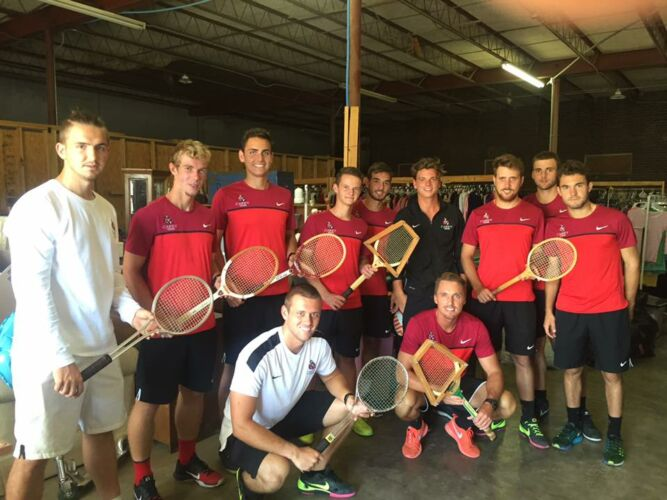 Old School Tennis !