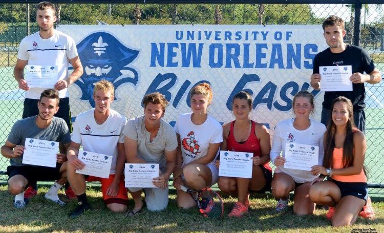 Un beau tournoi à University of New Orleans !