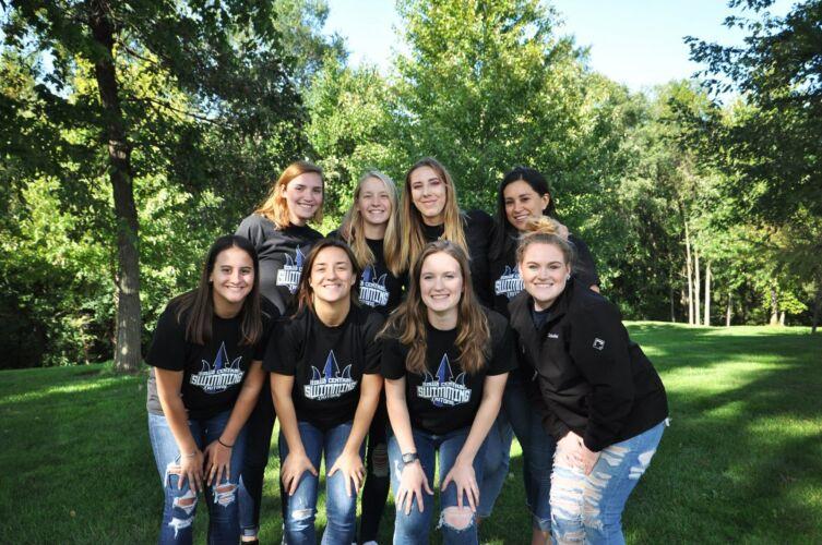 Iowa Central Women's Swimming Team 2019/2020