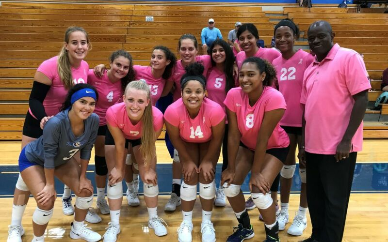 Pink out match !