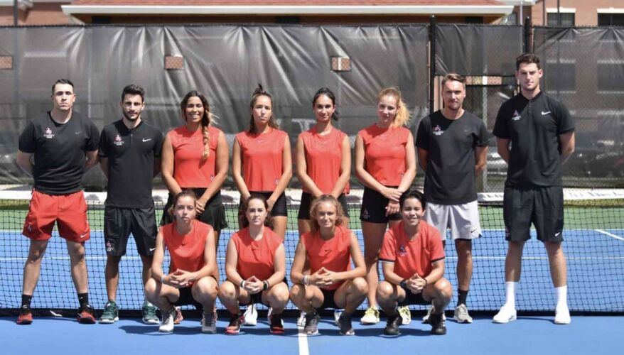 William Carey Women's Tennis Team 2018-2019