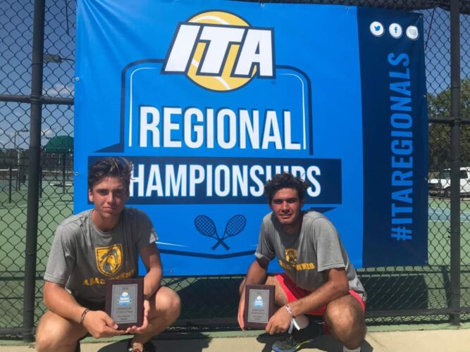 2019 ITA NJCAA Region IV Doubles Runner Up