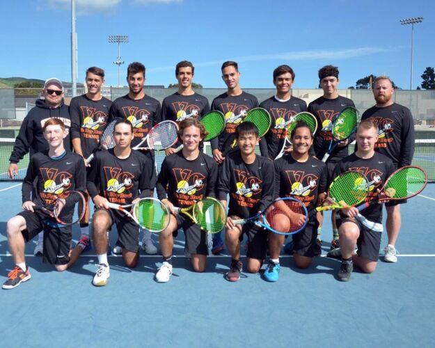 Ventura College Men's Tennis Team 2019/2020