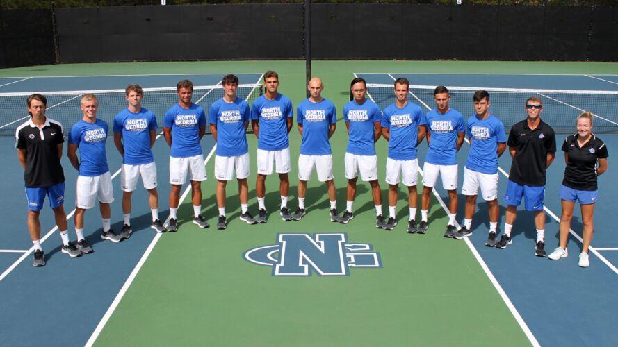 UNG Men's Tennis Team 2019/2020