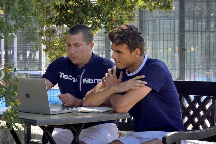 Antoine Pourin et Daniel