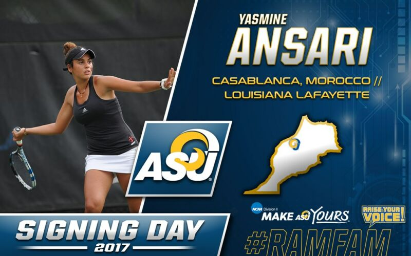 Transfert de Yasmine pour Angelo State