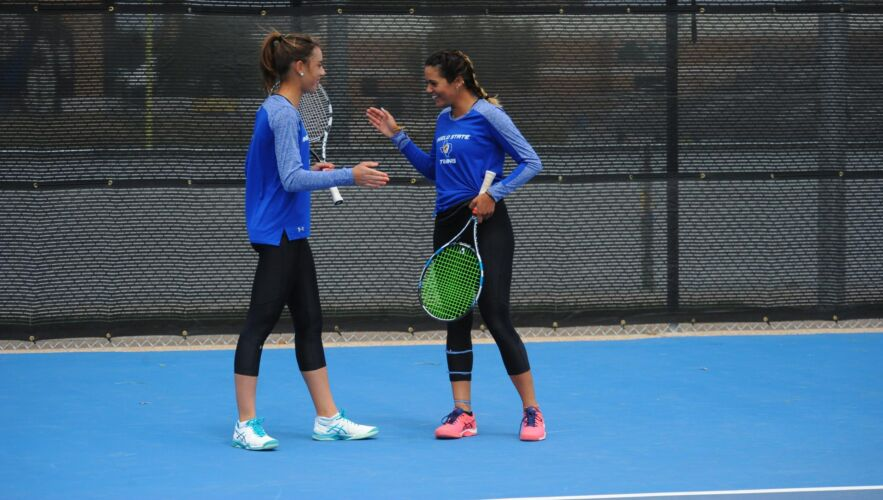 Avec Marie Maitrot, une autre joueuse placée par Athletics Partner