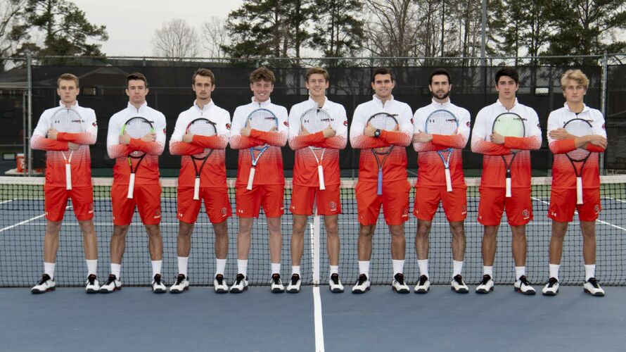 Campbell University Men's Tennis Team 2019/2020