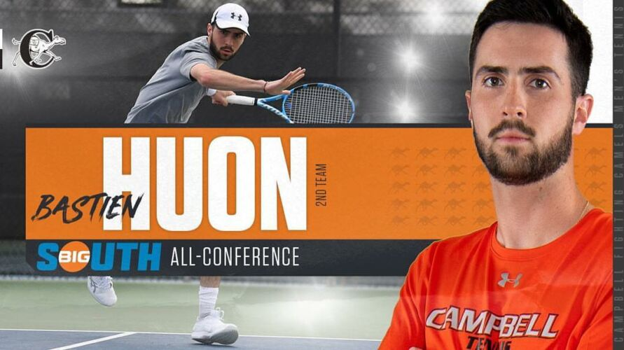 Bastien nommé Big South Seond-team All-Conference