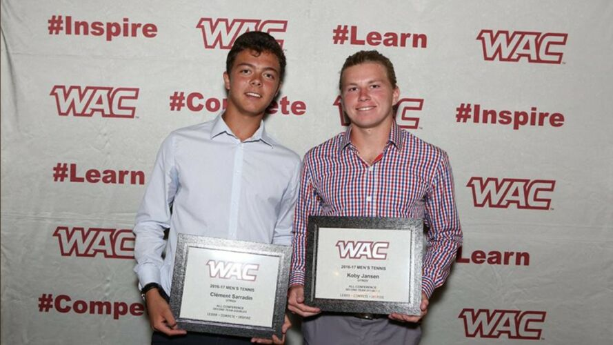 All-WAC Second Team Doubles Honors