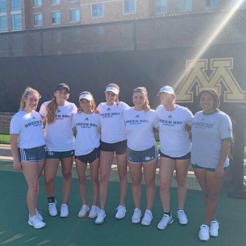 UWGB Women's Tennis Team 2019/2020