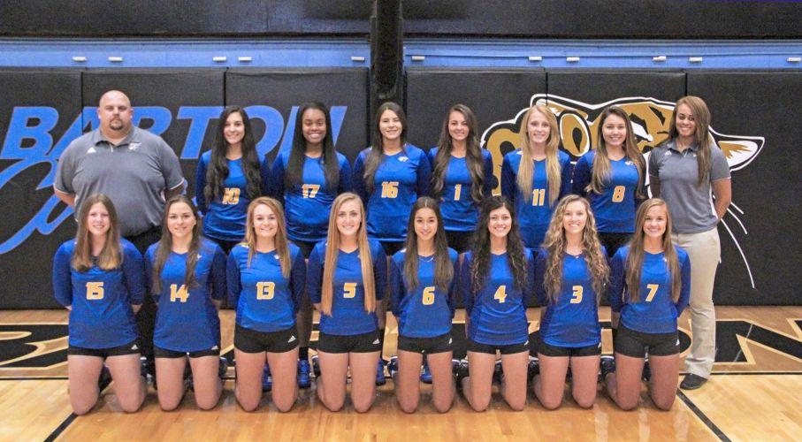 Barton Community College Women's Volleyball Team 2017/2018