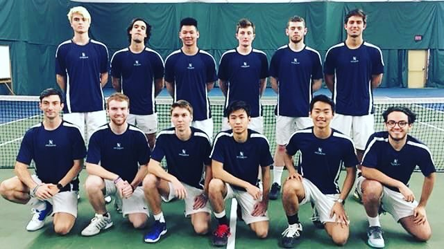 Lewis Clark State College Men's Tennis Team 2017/2018