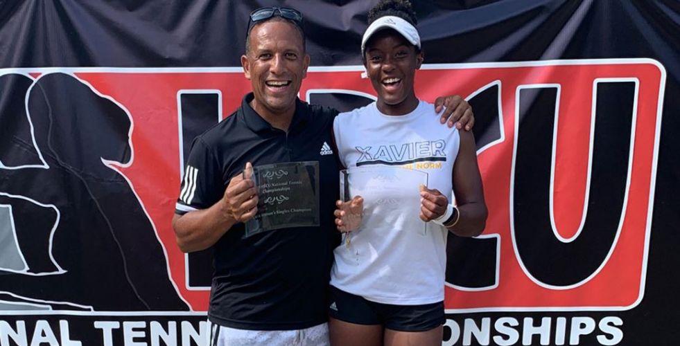 2 titres pour Angela au HBCU National Tennis Championships