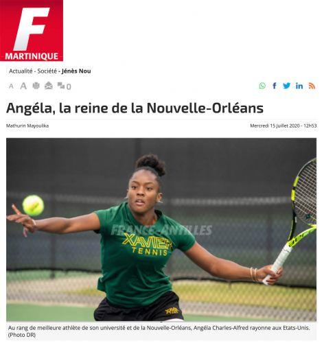 A la une de France Antilles !